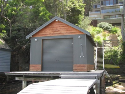 boatshed construction